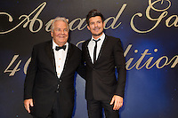 Massimo Gargia &amp; Vincent Niclo : &quot; The Best &quot; 40th Edition &agrave; l'h&ocirc;tel George V.<br /> France, Paris, 27 janvier 2017.<br /> ' The Best ' 40th Edition at the George V hotel in Pais.<br /> France, Paris, 27 January 2017
