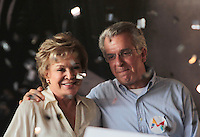 SÃO PAULO,SP,30.07.2016 - ELEIÇÕES-SP - Marta Suplicy e Andrea Matarazzo durante convenção municipal do PMDB 2016 na região norte de São Paulo,neste sábado (30)(Foto : Marcio Ribeiro / Brazil Photo Press)