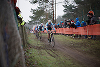 belgians in the lead on lap 1<br /> <br /> Men's Elite Race<br /> <br /> UCI 2016 cyclocross World Championships,<br /> Zolder, Belgium