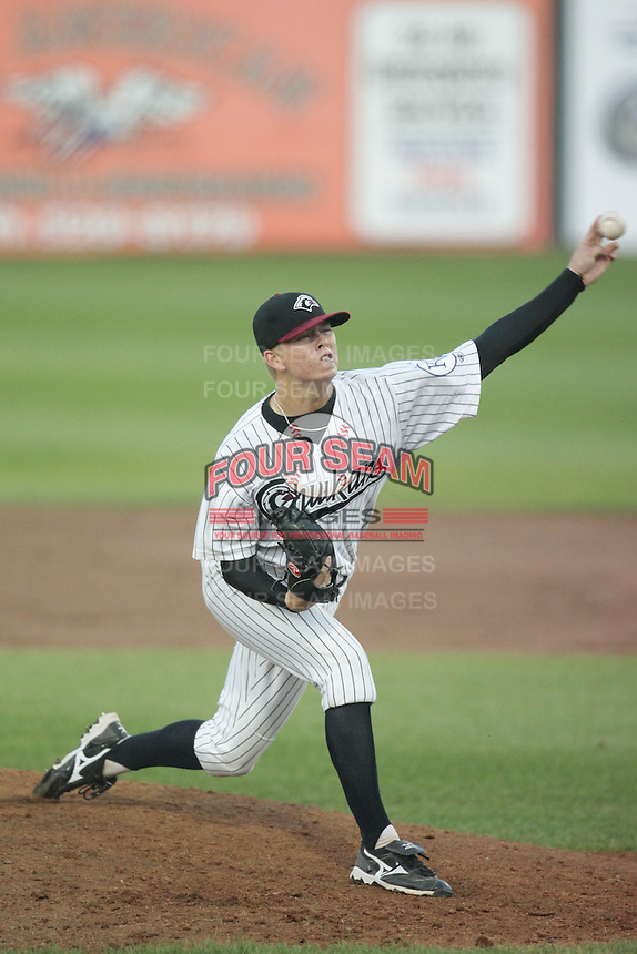 August 11, 2009: John Lamb of the Idaho Falls Chukars. The Chukars are the Pioneer League affiliate for the Kansas City Royals. Photo by: Chris Proctor/Four Seam Images
