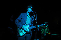 LONDON, ENGLAND - MARCH 8: Saul Adamczewski of 'Insecure Men' performing at Scala on March 8, 2018 in London, England.<br /> CAP/MAR<br /> &copy;MAR/Capital Pictures