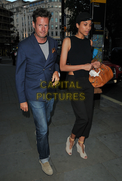 Percy Parker &amp; Ophelia Aasa at the STK Ibiza launch party, STK bar &amp; restaurant, The Strand, London, England, UK, on Tuesday 21 June 2016.<br /> CAP/CAN<br /> &copy;CAN/Capital Pictures