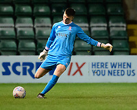 Lincoln City U18's Matty White<br /> <br /> Photographer Chris Vaughan/CameraSport<br /> <br /> The FA Youth Cup Second Round - Lincoln City U18 v South Shields U18 - Tuesday 13th November 2018 - Sincil Bank - Lincoln<br />  <br /> World Copyright © 2018 CameraSport. All rights reserved. 43 Linden Ave. Countesthorpe. Leicester. England. LE8 5PG - Tel: +44 (0) 116 277 4147 - admin@camerasport.com - www.camerasport.com