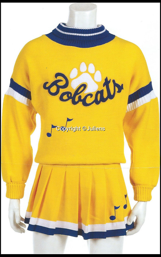 BNPS.co.uk (01202 558833)<br /> Pic: Juliens/Casemate<br /> <br /> Cobains famous cheerleading outfit - £4000.<br /> <br /> A relative of the late Kurt Cobain is selling a huge collection of the late rock star's belongings worth around £80,000.<br /> <br /> The 26-lot collection offers an insight into the troubled star's life and career, and is made up of a variety of awards, notes, clothing and memorabilia.<br /> <br /> A number of the lots would appear to contradict the rock hero's wild public persona, including a Blockbuster video card, belonging to Cobain during the early 90s.
