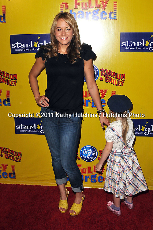 Megyn Price.Ringling Bros. and Barnum & Bailey presents Fully Charged.Staples Center.Pacoima, CA.May 14, 2011.©2011 Hutchins Photo....