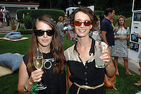 Catherine Czacki, Tanya Brodsky==<br /> LAXART 5th Annual Garden Party Presented by Tory Burch==<br /> Private Residence, Beverly Hills, CA==<br /> August 3, 2014==<br /> ©LAXART==<br /> Photo: DAVID CROTTY/Laxart.com==