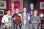AWARDS: Enjoying the Rock Street/Caherslee community games awards night at O'Donnell's restaurant and bar, Tralee on Friday front l-r: Jasmine Ryle, Meabh McElligott, Mollie O'Carrol and Niamh Ryan. Back l-r: Lucy O'Carroll and Emma Reidy.