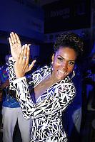 S&Atilde;O PAULO, SP, 07.09.2013 - IMP&Eacute;RIO DE CASAVERDE ESCOLHE SAMBA ENREDO, Valeska Reis na Escola de Samba Imp&eacute;rio de Casa verde que escolheu seu samba enredo na noite desse s&aacute;bado, 07, o destaque foi a musa da bateria Andr&eacute;a Andrade.<br /> (Foto: Paduardo / Brazil Photo Press).