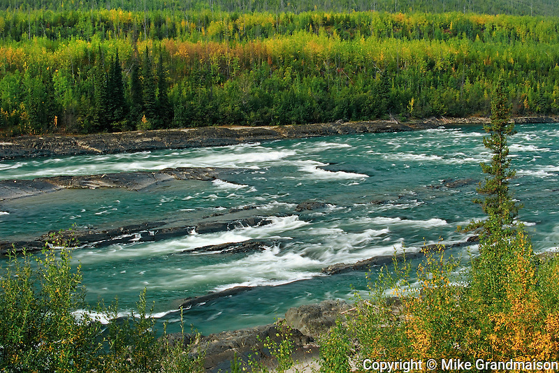 Cranberry Rapids on the Liard River along the Alaska Highway<br /> along the Alaska Highway<br /> British Columbia<br /> Canada