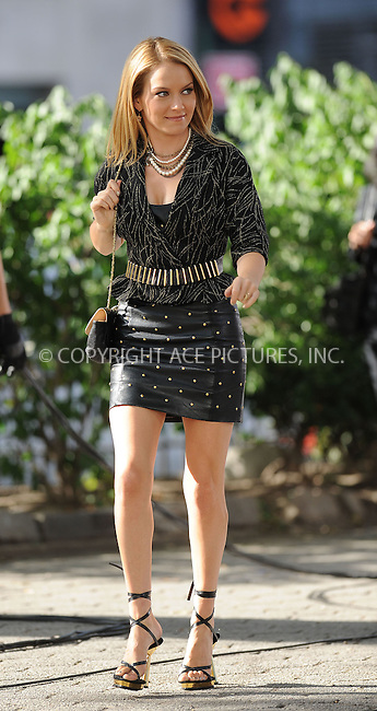 WWW.ACEPIXS.COM . . . . . ....September 3 2009, New York City....Actress Becki Newton on the set of the TV show 'Ugly Betty'  on September 3 2009 in New York City ....Please byline: KRISTIN CALLAHAN - ACEPIXS.COM.. . . . . . ..Ace Pictures, Inc:  ..tel: (212) 243 8787 or (646) 769 0430..e-mail: info@acepixs.com..web: http://www.acepixs.com