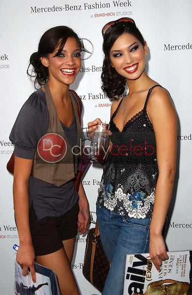 Carla Morel and Hana Mayeda<br />at Mercedes-Benz Fall 2006 L.A. Fashion Week Day 4. Smashbox, Culver City, CA. 03-22-06<br />Dave Edwards/DailyCeleb.com 818-249-4998
