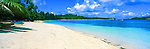 Blue Lagoon, Yasawa Islands, Fiji Islands<br /> <br /> Image taken on large format panoramic 6cm x 17cm transparency. Available for licencing and printing. email us at contact@widescenes.com for pricing.
