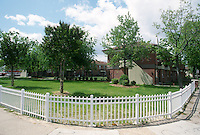 1998 April 21..Assisted Housing..Roberts Village..NEW FENCING...NEG#.NRHA#..