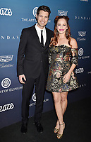 LOS ANGELES, CA - JANUARY 05: Drew Seeley (L) and Amy Paffrath attend Michael Muller's HEAVEN, presented by The Art of Elysium at a private venue on January 5, 2019 in Los Angeles, California.<br /> CAP/ROT/TM<br /> &copy;TM/ROT/Capital Pictures