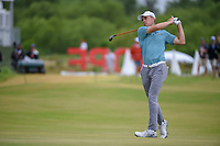Jordan Spieth (USA) hits his second shot on 1 during round 4 of the AT&T Byron Nelson, Trinity Forest Golf Club, at Dallas, Texas, USA. 5/20/2018.<br /> Picture: Golffile | Ken Murray<br /> <br /> All photo usage must carry mandatory copyright credit (© Golffile | Ken Murray)