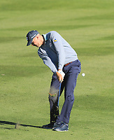2nd February 2020, TPC Scottsdale, Arizona, USA;  Matt Kuchar hits his approach shot on the second hole during the final round of the Waste Management Phoenix Open