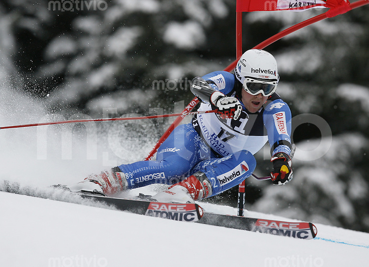 Ski Alpin Weltcup Riesenslalom in Bad Kleinkirchheim , AUT 08.12.07  Marc Berthod (SUI)