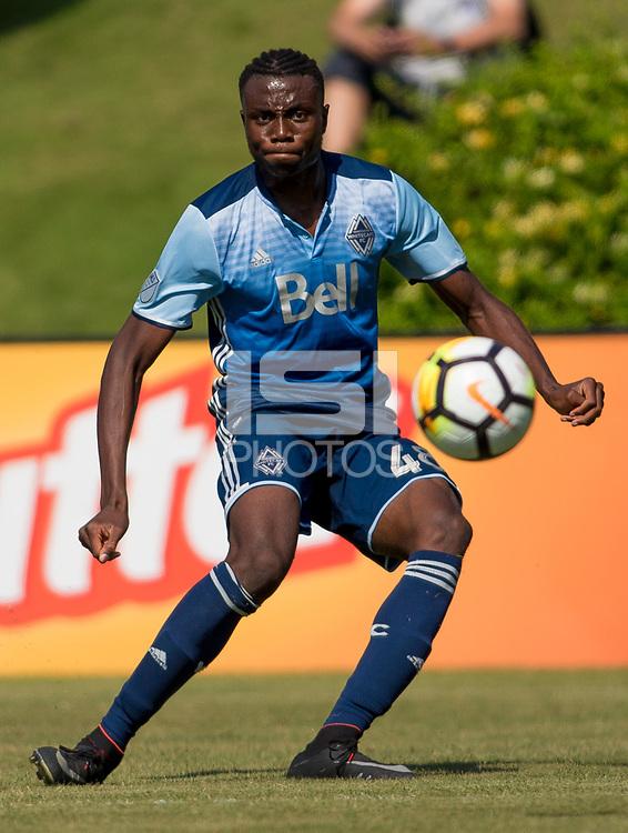 Carson, CA -  July 14, 2017: In the 2016-17 U.S. Soccer Development Academy U-15/16 Semi Finals Atlanta United FC vs Vancouver Whitecaps at StubHub center.