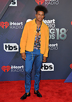 Trevor Jackson at the 2018 iHeartRadio Music Awards at The Forum, Los Angeles, USA 11 March 2018<br /> Picture: Paul Smith/Featureflash/SilverHub 0208 004 5359 sales@silverhubmedia.com