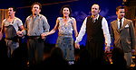 Eugene O'Hare, Colm Meany, Eve Best, Kevin Spacey & Billy Carter during Opening Night Performance Curtain Call of Eugene O'Neill's A MOON FOR THE MISBEGOTTEN at the Brooks Atkinson Theatre in New York City.<br />April 9, 2007