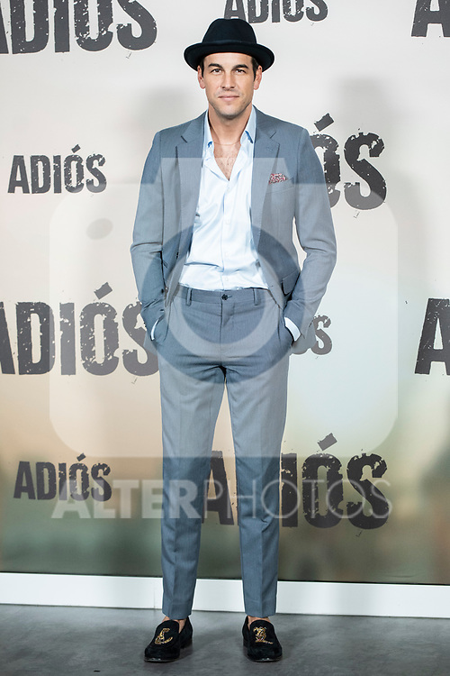 Mario Casas in the press junction of 'ADIOS', the new work of director Paco Cabezas, which has an undisputed and recognized cast headed by Mario Casas, the two-time winner of Goya Natalia de Molina, and Goya nominees Ruth Diaz and Carlos Bardem.<br /> November 15, 2019. <br /> (ALTERPHOTOS/David Jar)