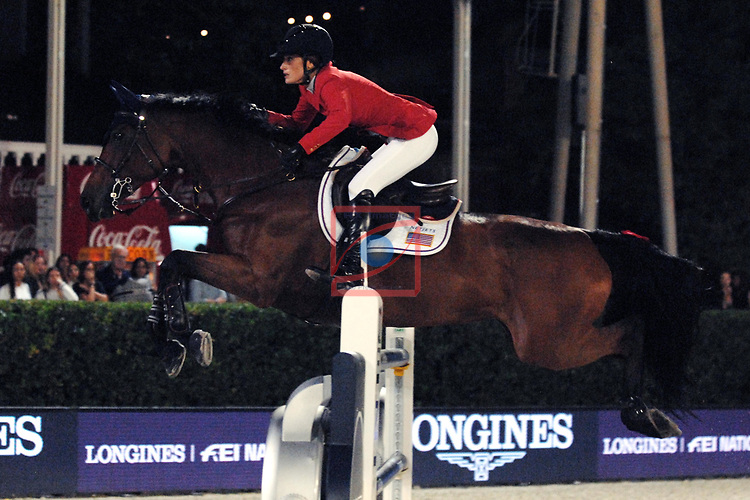 CSIO Barcelona 2018.<br /> Longines-Jumping Nations Cup-Barcelona 2018.<br /> Jessica Springsteen.