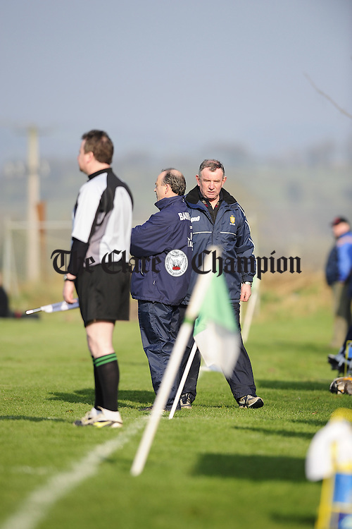 NHL Clare v Laois at Scariff.Pic Arthur Ellis...Mike McNamara