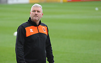 Blackpool's Manager Terry McPhillips<br /> <br /> Photographer Kevin Barnes/CameraSport<br /> <br /> Emirates FA Cup First Round - Exeter City v Blackpool - Saturday 10th November 2018 - St James Park - Exeter<br />  <br /> World Copyright © 2018 CameraSport. All rights reserved. 43 Linden Ave. Countesthorpe. Leicester. England. LE8 5PG - Tel: +44 (0) 116 277 4147 - admin@camerasport.com - www.camerasport.com