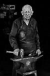 Herbert Weigel, blacksmith.  Austin, Texas
