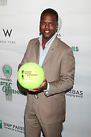 AJ Calloway attends the 13th Annual 'BNP Paribas Taste of Tennis' at the W New York.  New York City, August 23, 2012. © Diego Corredor/MediaPunch Inc. /NortePhoto.com<br />
