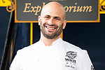 Chef Sam Kass during the presentation of Exploratorium of San Miguel Selecta at Museo del Ferrocarril in Madrid. March 22, 2017. (ALTERPHOTOS/Borja B.Hojas)