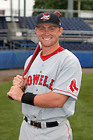 Lowell Spinners Jon Still poses for a photo before a NY-Penn League game at Dwyer Stadium on July 22, 2006 in Batavia, New York.  (Mike Janes/Four Seam Images)