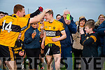 Man of the Match Niall Collins at the Brosna V Listowel Emmets North Kerry Senior Championship final replay at  Bob Stack Park, Ballybunion on Saturday