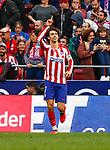 Atletico de Madrid's Joao Felix celebrates after scoring a goal during La Liga match. Mar 07, 2020. (ALTERPHOTOS/Manu R.B.)