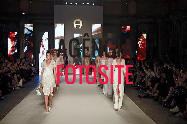 Milao, Itália '09/2014 - Desfile de Aigner durante a Semana de moda de Milao  -  Verao 2015. <br /> <br /> Foto: FOTOSITE