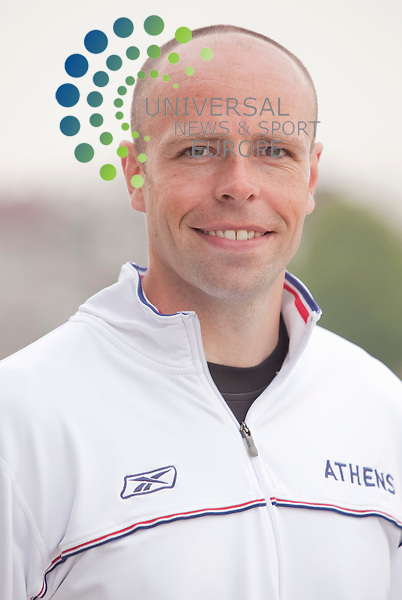 Head shot, Dean Macey former Olympic decathlete.. Picture Johnny Mclauchlan/Universal News and Sport (Scotland)21/04/2011