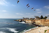 USA, California, San Diego, a view of Ocean Beach located in San Diego