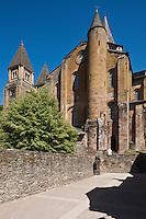 Europe/France/Midi-Pyrénées/12/Aveyron/Conques: Abbatiale Sainte-Foy de Conques.