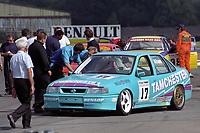 #17 Ian Khan (GBR). Tamchester Team Maxted. Vauxhall Cavalier GSi.