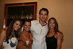 Chrishell Stause - Melissa Claire Egan - Adam Mayfield - Jamie Luner - Brittany Allen attend All My Children Fan Luncheon on September 13, 2009 at the New York Helmsley Hotel, NYC, NY. (Photo by Sue Coflin/Max Photos)