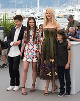 Nicole Kidman, Raffey Cassidy, Barry Keoghan &amp; Sunny Suljic at the photocall for &quot;The Killing of a Sacred Deer&quot; at the 70th Festival de Cannes, Cannes, France. 22 May 2017<br /> Picture: Paul Smith/Featureflash/SilverHub 0208 004 5359 sales@silverhubmedia.com