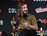 NEW YORK, NY - OCTOBER 7: Tom Payne at AMC's The Walking Dead panel at New York Comic Con on October 7, 2017 in New York City.    <br /> CAP/MPI/DC<br /> &copy;DC/MPI/Capital Pictures