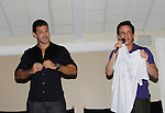 Live Auction - Ryan Paivey & Christian LeBlanc (MC) - Actors from Y&R, General Hospital and Days donated their time to Southwest Florida 16th Annual SOAPFEST - a celebrity weekend May 22 thru May 25, 2015 benefitting the Arts for Kids and children with special needs and ITC - Island Theatre Co. as it presented A Night of Stars on May 23 , 2015 at Bistro Soleil, Marco Island, Florida. (Photos by Sue Coflin/Max Photos)