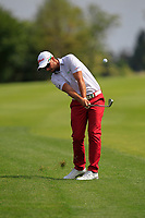 Filip Mruzek (CZE) on the 2nd tee during Round 1 of the D+D Real Czech Masters at the Albatross Golf Resort, Prague, Czech Rep. 31/08/2017<br /> Picture: Golffile | Thos Caffrey<br /> <br /> <br /> All photo usage must carry mandatory copyright credit     (&copy; Golffile | Thos Caffrey)