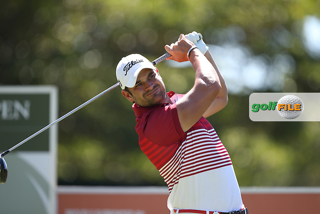 Jared Harvey (RSA) during Round Three of the Africa Open 2015 at the East London Golf Club, East London, Eastern Cape, South Africa. Picture:  David Lloyd / www.golffile.ie. 07/03/2015