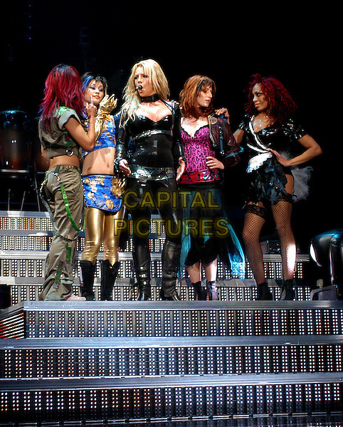 BRITNEY SPEARS.performs live for her opening show of Onyx Hotel Tour 2004 held at San Diego Sports Arena in San Diego, California .02 March 2004.*UK Sales Only*.music, singing, stage, concert, gig.www.capitalpictures.com.sales@capitalpictures.com.©Capital Pictures.