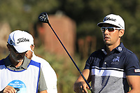 Rafa Cabrera-Bello (ESP) on the 6th tee at Pebble Beach course during Friday's Round 2 of the 2018 AT&amp;T Pebble Beach Pro-Am, held over 3 courses Pebble Beach, Spyglass Hill and Monterey, California, USA. 9th February 2018.<br /> Picture: Eoin Clarke | Golffile<br /> <br /> <br /> All photos usage must carry mandatory copyright credit (&copy; Golffile | Eoin Clarke)