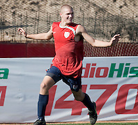 Eriq Zavaleta training before the 2009 CONCACAF Under-17 Championship From April 21-May 2 in Tijuana, Mexico