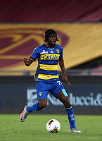 Parma's Gervinho in action during the Italian Serie A football match between Roma and Parma at Rome's Olympic stadium, July 8, 2020.<br /> UPDATE IMAGES PRESS/Isabella Bonotto