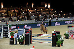 Julien Epaillard of France riding Cristallo A LM in action during the Longines Speed Challenge competition as part of the Longines Hong Kong Masters on 13 February 2015, at the Asia World Expo, outskirts Hong Kong, China. Photo by Victor Fraile / Power Sport Images